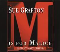 M Is for Malice (Lib)(CD)