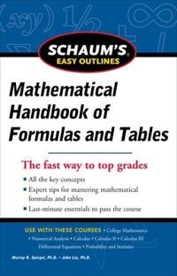 Mathematical Handbook of Formulas and Tables