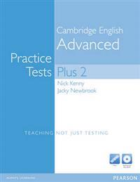 Practice Tests Plus CAE 2 New Edition without key with Multi-ROM and Audio CD Pack