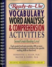 Ready-To-Use Vocabulary, Word Analysis & Comprehension Activities