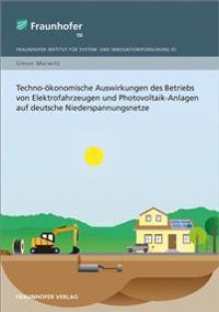Techno-ökonomische Auswirkungen des Betriebs von Elektrofahrzeugen und Photovoltaik-Anlagen auf deutsche Niederspannungsnetze.