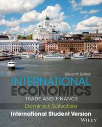 International Economics: Trade and Finance, 11th Edition International Stud