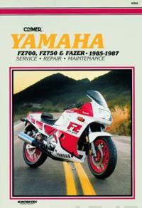 Clymer Yamaha Fz700, Fz750 & Fazier 1985-1987