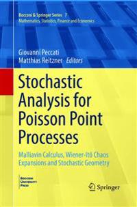 Stochastic Analysis for Poisson Point Processes