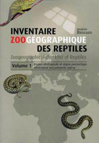 Zoogeographical checklist of reptiles, volume 1: afrotropical and palearcti