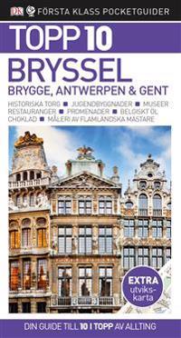 Bryssel, Brygge, Antwerpen och Gent