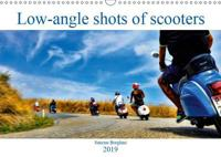 Low-angle shots of scooters (Wall Calendar 2019 DIN A3 Landscape)