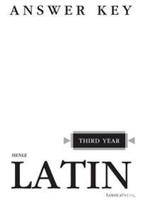 Henle Latin, Third Year
