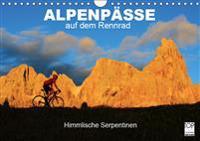 """Alpenpässe auf dem Rennrad """"Himmlische Serpentinen"""" (Wandkalender 2019 DIN A4 quer)"""