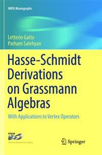 Hasse-schmidt Derivations on Grassmann Algebras