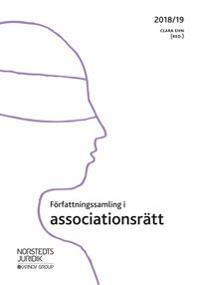 Författningssamling i associationsrätt : 2018/19
