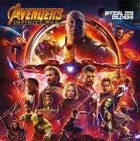 Avengers Infinity War Official 2019 Calendar - Square Wall Calendar Format