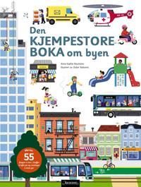 Den kjempestore boka om byen - Anne-Sophie Baumann | Inprintwriters.org