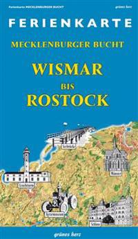 Ferienkarte Mecklenburger Bucht Wismar bis Rostock 1: 100 000