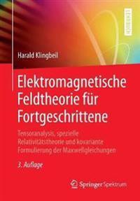 Elektromagnetische Feldtheorie fur Fortgeschrittene