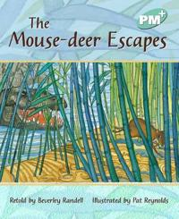 The mouse-deer escapes