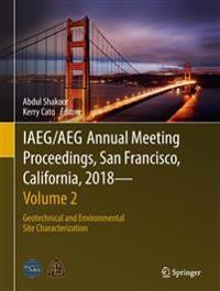 Iaeg/Aeg Annual Meeting Proceedings, San Francisco, California, 2018