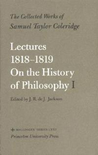 Lectures 1818-1819 on the History of Philosophy