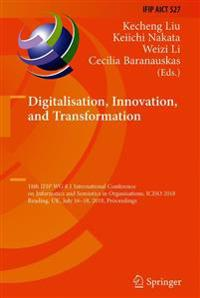 Digitalisation, Innovation, and Transformation