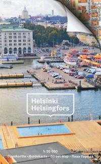 Helsinki Opaskartta 2018 1:20 000 - Guidekarta - Street Map