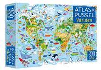 Atlas & pussel : Världen