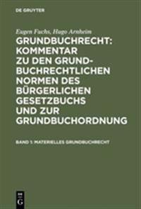 Materielles Grundbuchrecht