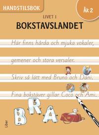 Livet i Bokstavslandet Handstilsbok åk 2