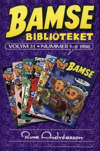 Bamsebiblioteket. Vol 31, Nummer 1-6 1988