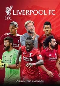 Liverpool Official 2019 Calendar - A3 Wall Calendar