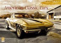 American Classic Cars (Wandkalender 2019 DIN A4 quer)