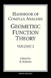 Handbook of Complex Analysis