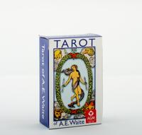 A.E. Waite Tarot Pocket Blue Edition