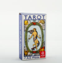 A.E. Waite Tarot Standard Blue Edition