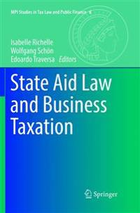 State Aid Law and Business Taxation