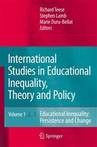 International Studies in Educational Inequality, Theory and Policy