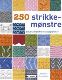 250 strikkemønstre