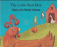 Den lilla röda hönan (engelska och svenska)