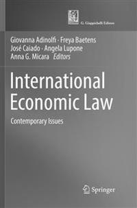 International Economic Law: Contemporary Issues