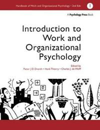Introduction to Work and Organizational Psychology