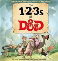 The 123s of D&d / Dungeons & Dragons Children's Book / Children's Gift