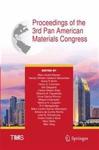 Proceedings of the 3rd Pan American Materials Congress