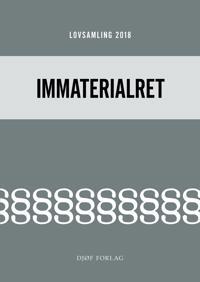 Lovsamling 2018 - Immaterialret
