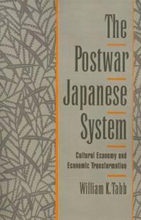 The Postwar Japanese System