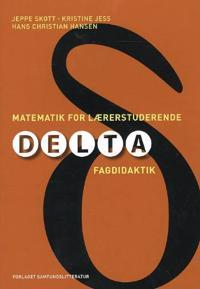 Matematik for lærerstuderende; delta-fagdidaktik