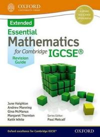 Mathematics for (Cambridge) Igcse Extended Revision Guide