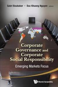 Corporate Governance and Corporate Social Responsibilty