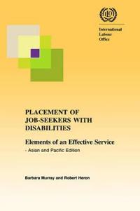 Placement Of Job-seekers With Disabilities.