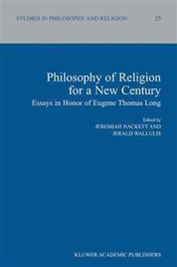 Philosophy of Religion for a New Century
