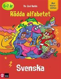 Rädda alfabetet, svenska