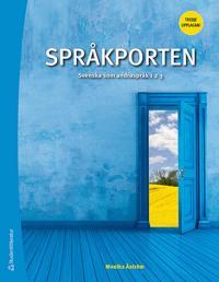 Språkporten 1, 2, 3 Elevpaket - Digitalt + Tryckt - Svenska som  andraspråk 1, 2 och 3, tredje upplagan